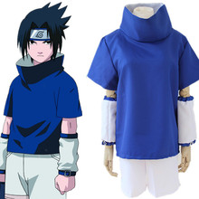 Uchiha Sasuke cosplay costumes Japanese anime Naruto blue clothing Masquerade/Mardi Gras/Carnival Halloween costumes