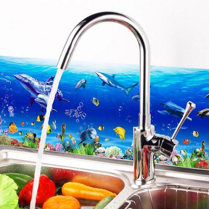 Waterproof 3d Cartoon Kitchen Wall Stickers Removable Wall Decals For  Living Room Home Decor Wallpaper