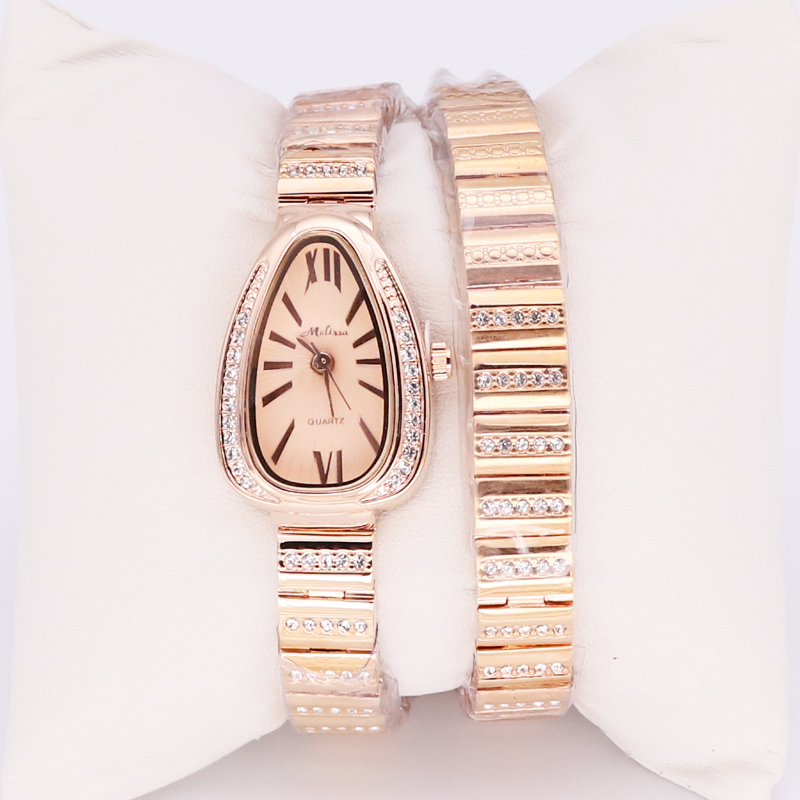 Long Snake Melissa Luxury Crystal Lady Women's Watch Japan Quartz Top Fashion Dress Rhinestone Clock Girl's Birthday Gift цена