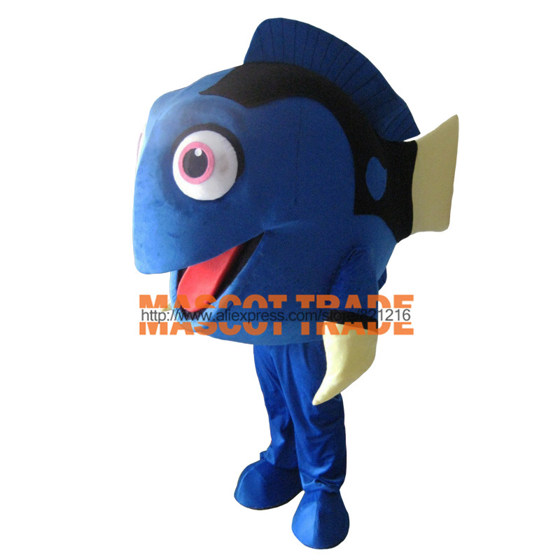 Nemo clown fish mascot adult costume hot cartoon character for Clown fish costume