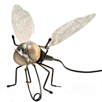 Retro Industrial Vintage dragonfly Led Wall Lamp Kung E27 led lamp Sconce Indoor Decoration Bar Restaurant Bedroom hotel