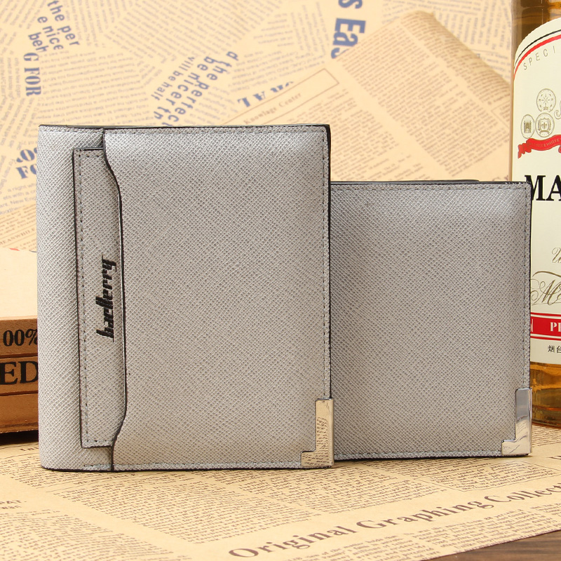 Creative Fashion Men Wallet Cross pattern Mobile Documents Card Wallet Across Vertical Style 4 Colors Quality PU Leather Purse lorways 016 stylish check pattern long style pu leather men s wallet blue coffee
