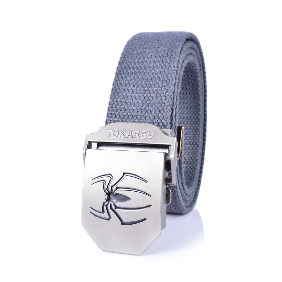 Luxury Design Air Force Military Knitted Canvas Men Belt