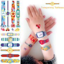 Cute Watches Tattoo For Kids Waterproof Colourful  Tattoo Pa