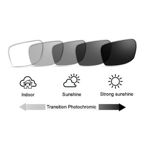 Image 2 - Transition Photochromic Bifocal Reading Glasses Optical Hyperopia Metal Frame UV400 Sunglasses