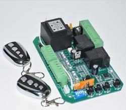 2 telecomandi 110 v/220 v AC di alimentazione AUTOMATICA SCORREVOLE APRI del CANCELLO di pcb Circuito di CONTROLLO motore a CORRENTE ALTERNATA di alimentazione della scheda di controllo