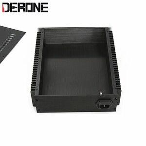 Image 4 - 1 piece aluminum chassis power amplifier shell  case power box preamplifier encasement