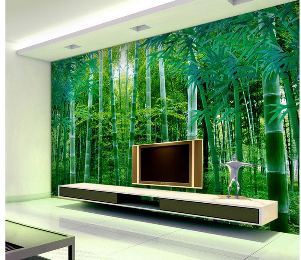 3d wallpaper for room bamboo background wall bathroom 3d for Wallpaper home renovation