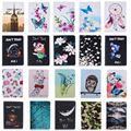 Fashion Stand PU Leather Case For Samsung Galaxy Tab A 9.7 inch SM T550 T551 T555 Beautiful Painted tablet Shell Cover #D
