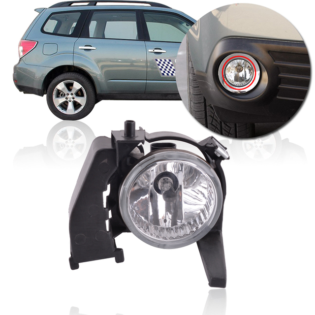 Capqx Front Per Fog Light For Subaru Forester 2006 2007 2008 Driving Foglight Replacement Running Lamp