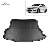 X AUTOHAUX Car Rear Trunk Floor Mat Cargo Boot Liner Carpet Tray for Honda City 2015 2018