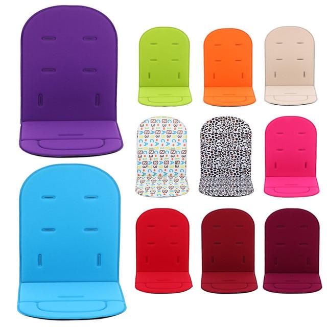 Pushchair Car Auto Seat Breathable Cotton Cushion Seat Padding Baby Pram Liner Pad Cushion Stroller Accessory 80*34* 1.35 cm