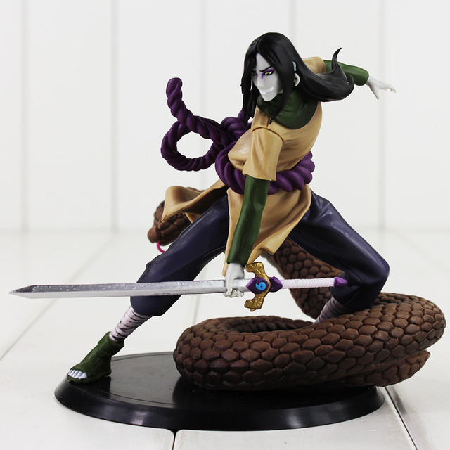 14cm Naruto Orochimaru Action Figure Model