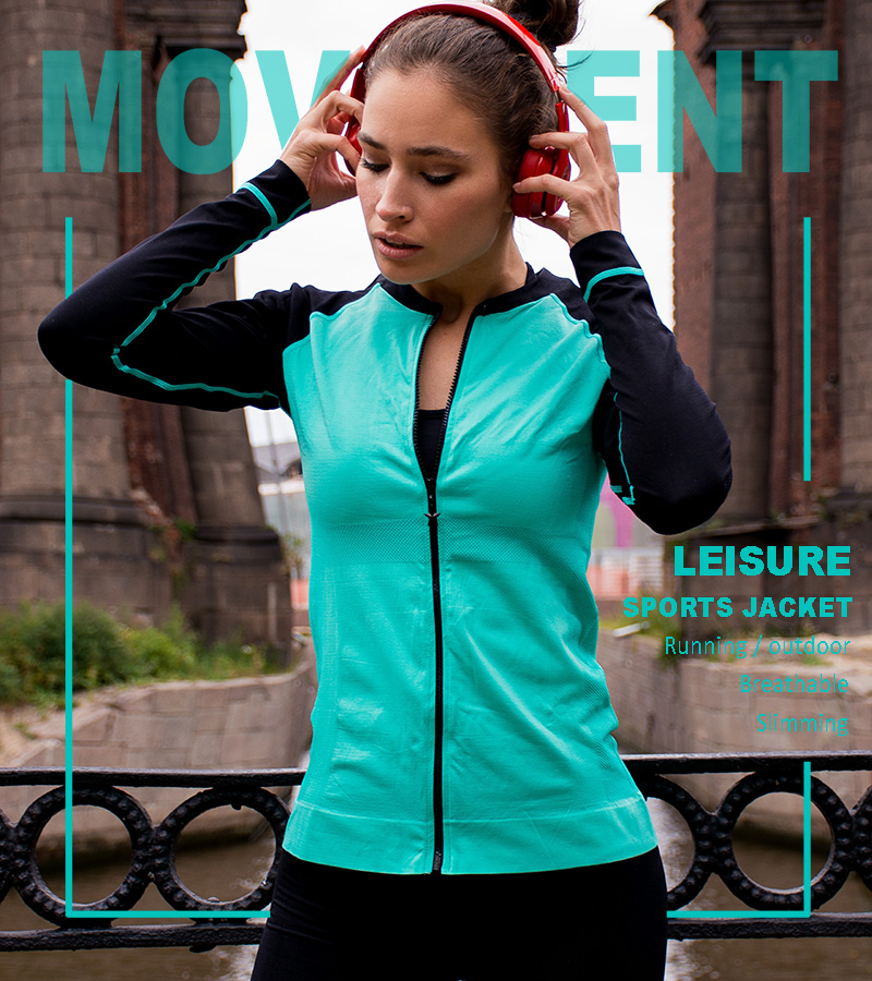 breathable running jacket - quick dry jacket