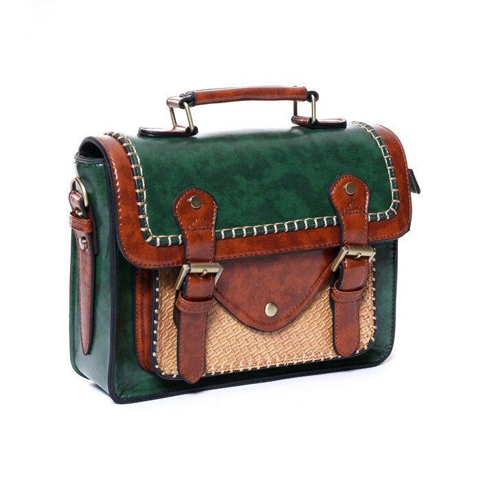 Стимпанк британский стиль женщин сумки паровой панк-ретро сумки леди плечо работает портфель