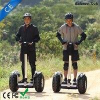 Бездорожье защита безопасности дорожного движения умный Баланс колеса два колеса встать Электрический скутер 2400 Вт