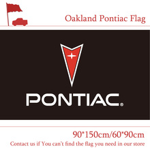 Free shipping Oakland Pontiac Car Flag 90x150cm 60*90cm 3x5ft Polyester Car Show Bar Party Banner худи print bar oakland raiders