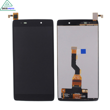 цена на LCD Display Touch Screen Digitizer Assembly For ALCATEL 6039 6039A 6039K 6039Y Black High Quality Mobile Phone LCDs
