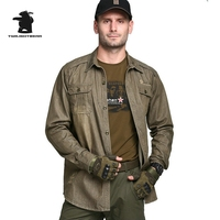 New Military Men S Shirts Long Sleeve Designer Fashion Army Green 100 Cotton Plus Size Casual