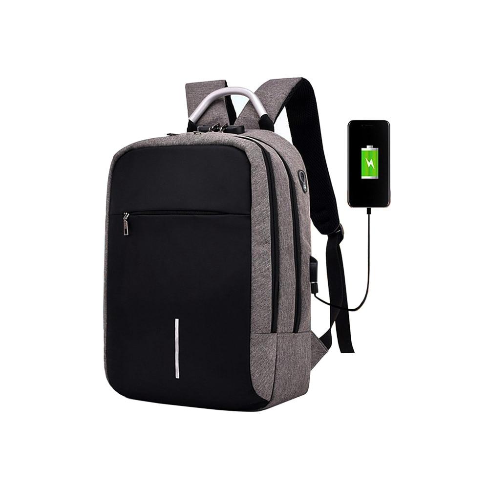 Laptop Case Bag Backpack With Usb Charging School Notebook Bag Men Women Oxford Waterproof Backpack 14 inch waterproof oxford usb charging men s women backpack mochila for womens school bag pack laptop notebook xd design bobby
