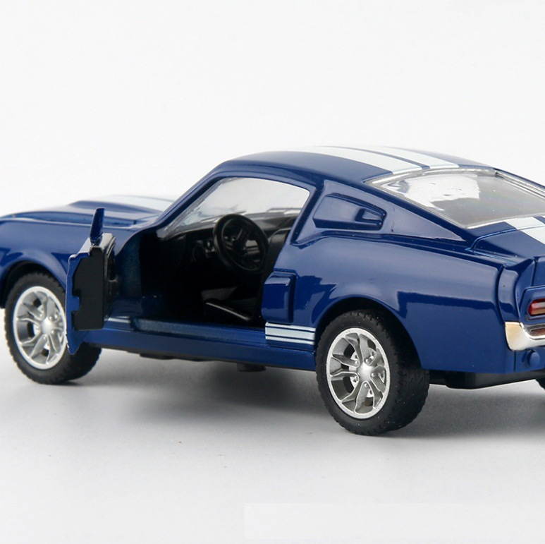 Ford Mustang GT 1967 GT500 Toy Car 13x5x35cm 9