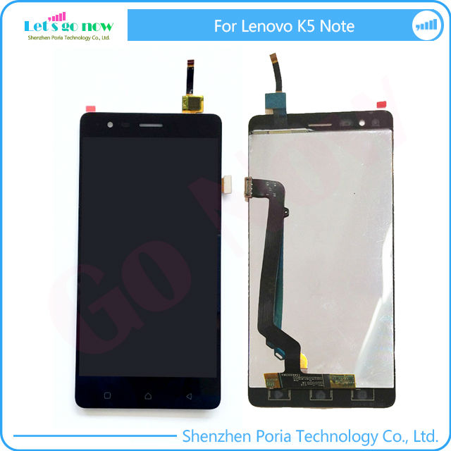 In Stock For Lenovo K5 Note LCD Display+Touchscreen Panel Digitizer Accessories+Track Number