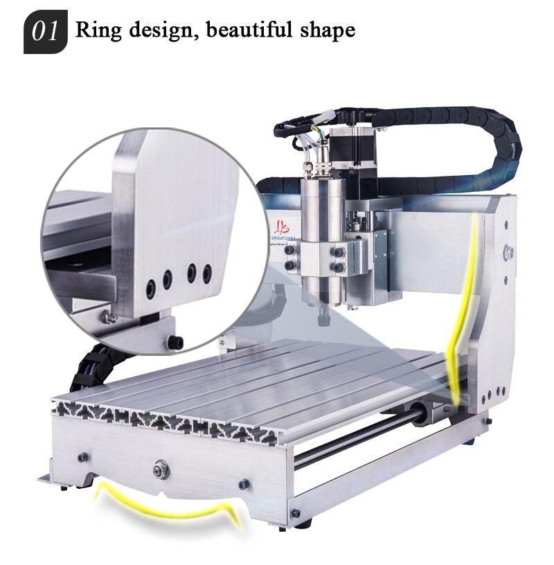 refrigeração do eixo 800 w cnc máquina