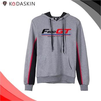 KODASKIN Men Cotton Round Neck Casual Printing Sweater Sweatershirt Hoodies for F800GT f800gt