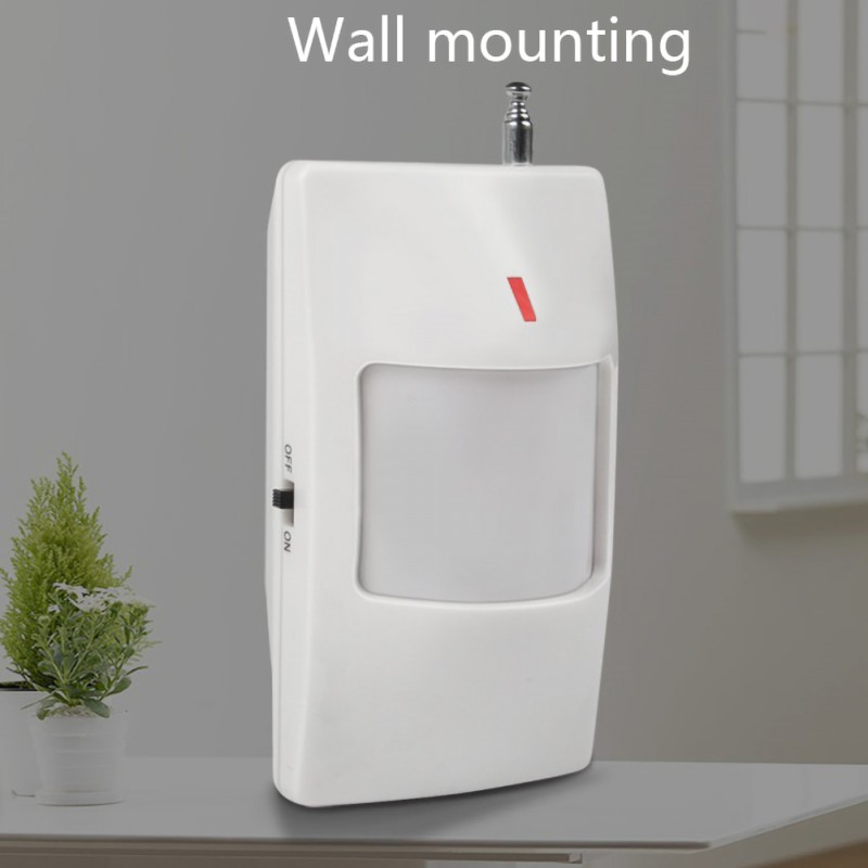 Wireless Passive Infrared Detector PIR Motion Sensor For 433MHz Wifi / GSM / PSTN Home Security Alarm System