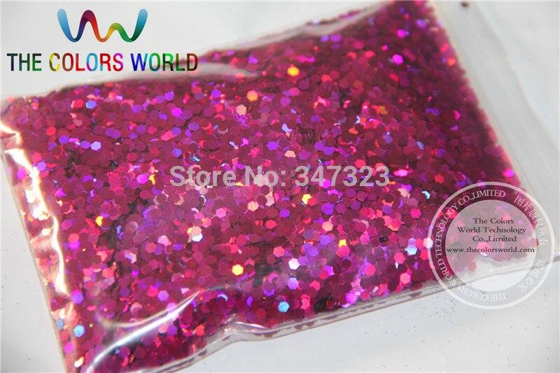 2 мм голографическая темно-персик Цвет блеск дождевания Блёстки для нейл-арта и другие DIY аксессуары