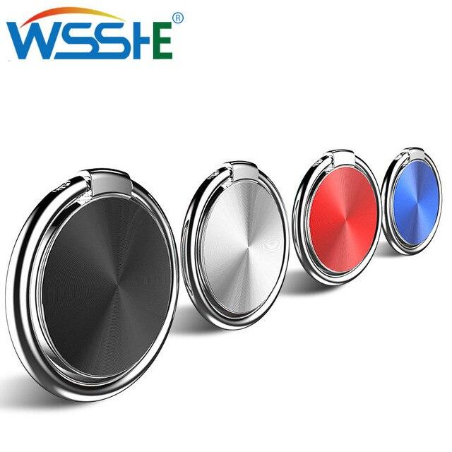 Delgado soporte para teléfono móvil con anillo de dedo con soporte giratorio de 360 grados para iPhone X 7 xs max case 6 All soporte para teléfono inteligente para coche 8
