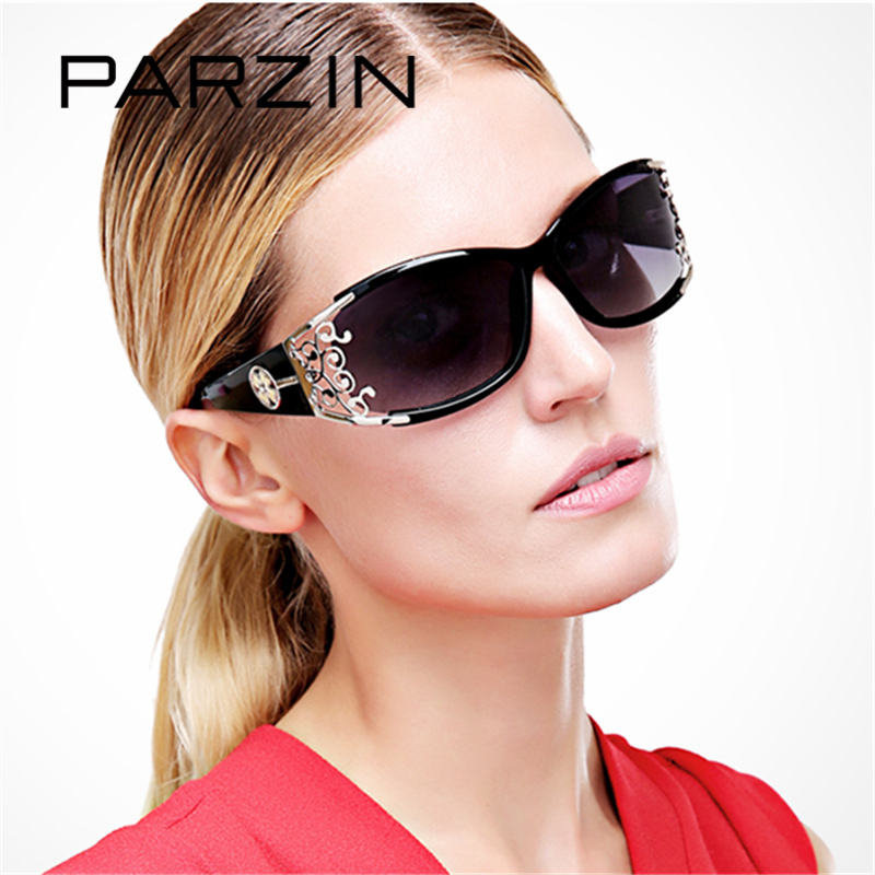 9218 PARZIN 2017 Women s Sunglasses So Real Brand Designer Spectacles Hollow Frame Plastic Glasses With