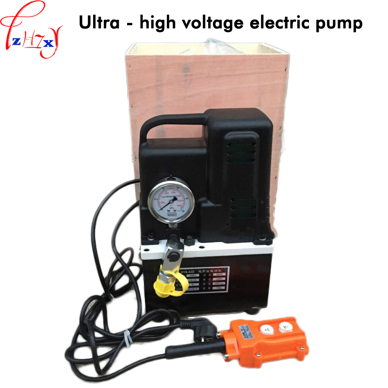 Portable small electric oil pump GYB-63D ultra-high voltage electric pump electric hydraulic pump 110/220V 1PC high pressure quantitative axial plunger pump10mcy14 1b ram pump piston pump hydraulic oil pump