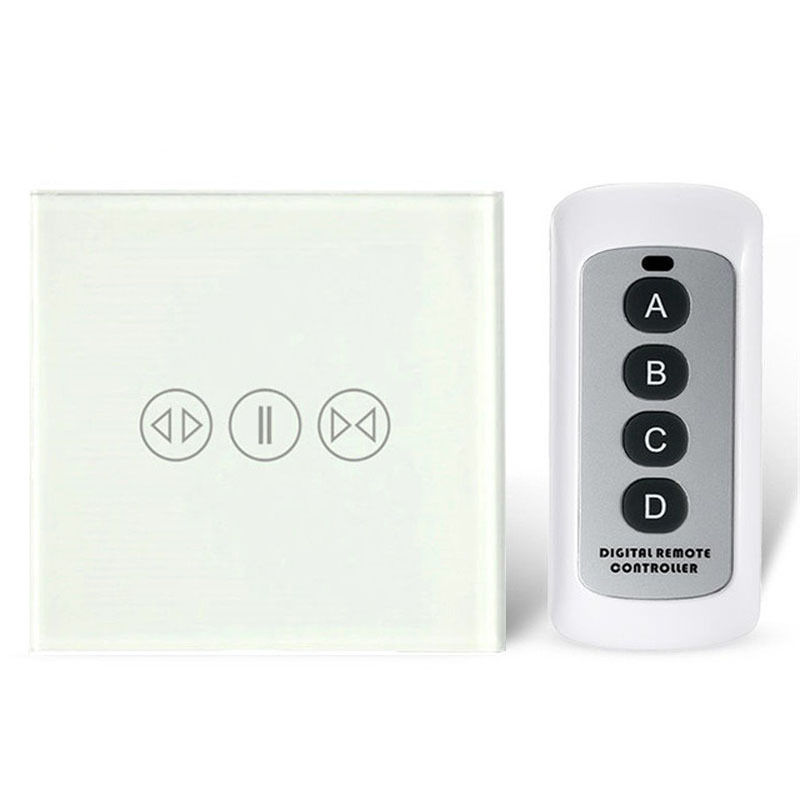 Image 4 - Smart home curtain switch electric curtain remote control touch sensor switch-in Remote Controls from Consumer Electronics