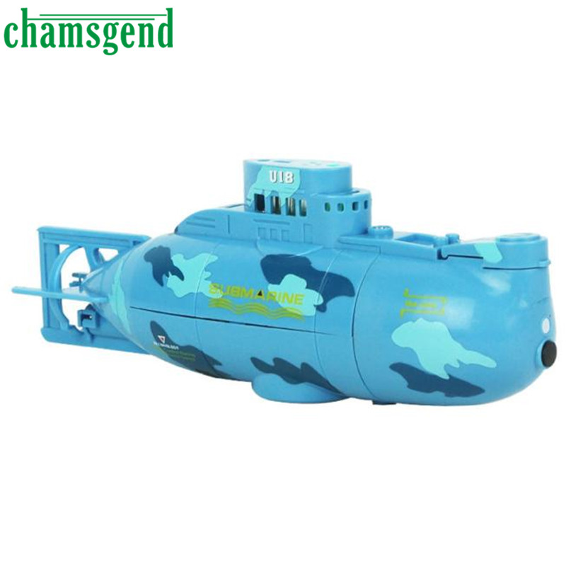 Chamsgend RC Water Boat 6CH Speedboat Model High Powered 3.7V Toy Boat Plastic Model Large RC Submarine Outdoor Toys Feb10