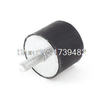1 1/2 x 1 1/8 Rubber Shock Absorber Vibration Isolator Mounts M8 4pcs anti vibration rubber shock absorber ball 60g 100g 600g