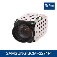 SAMSUNG SCM-2271P 27X Color CCD HD camera