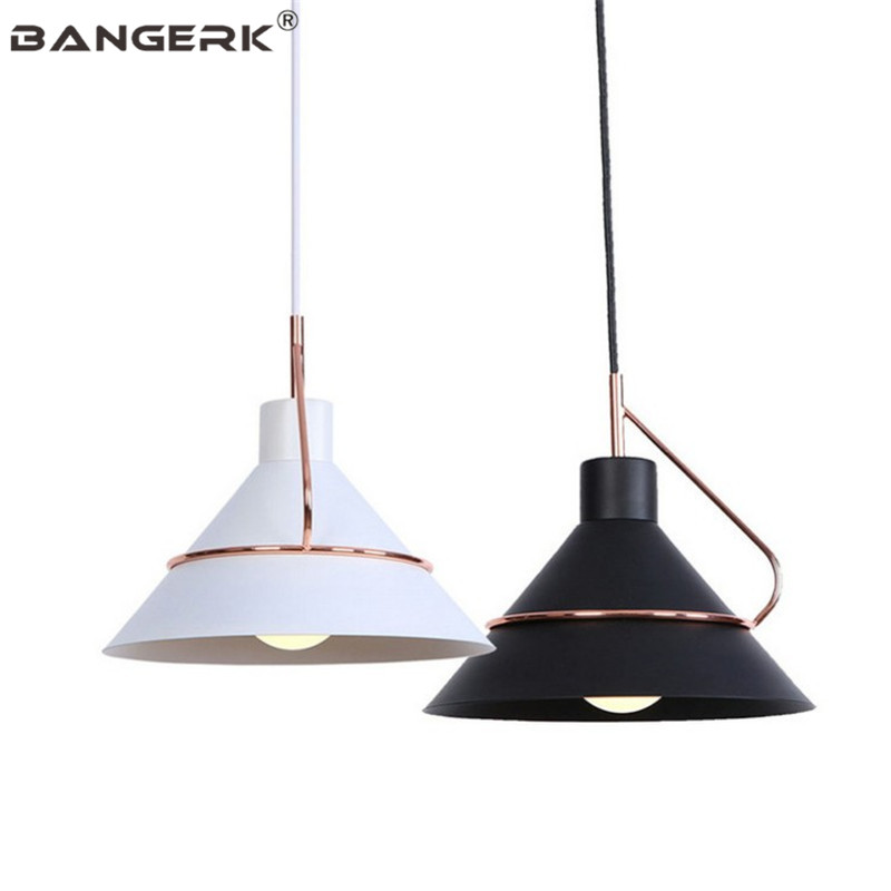 Nordic Design LED Pendant Lamp Modern Loft Style Dining Room Hanging Lamp Home Decor Lighting Fixtures Iron Droplight Luminaire
