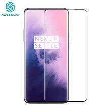 OnePlus 7 Pro szkło NILLKIN DS + MAX 9H bezpieczeństwo pełny klej 3D szkło hartowane dla OnePlus 7 Pro One Plus 7 Pro