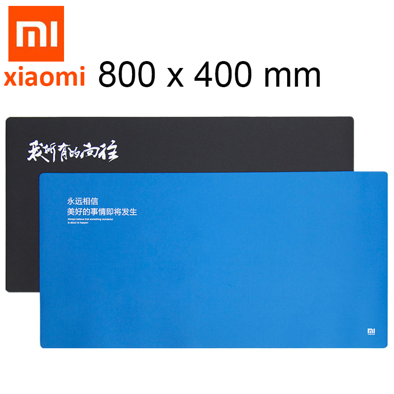 Original XiaoMi Waterproof Mouses Pads Xiaomi Huge Extra XL Large Size Mouses Pads Rubber Fabric Anti-skid Soft MI Mouse Pad