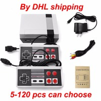 DHL 5 120 Pieces Classic Mini TV Game Console Retro Video Game Console 8 Bit With 620 Different Built in Games Double Gamepads