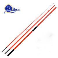 wholesale 2pcs/pack 4.2M 3 Insert sections Pure Carbon Fiber Beach Long Casting Far Shot Distance Throwing Surf Carp Rod