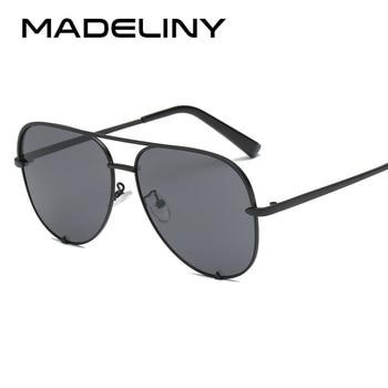 ¡Novedad de 2020! gafas de sol MADELINY de diseño marrón para mujer, nuevas gafas de sol para mujer UV400 MA307