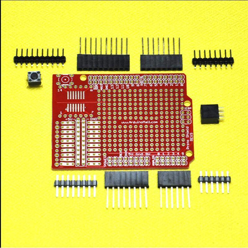 Prototype Shield ProtoShield DIY Kit Set For Arduino UNO R3 Mega 1280 2560 328P