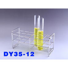 Test Tube Rack 12 Holes  Dia.37mm 256*93*120mm Fit 32 36mm Tube ,Stainless Steel Wire  ,All Size  Available In Store