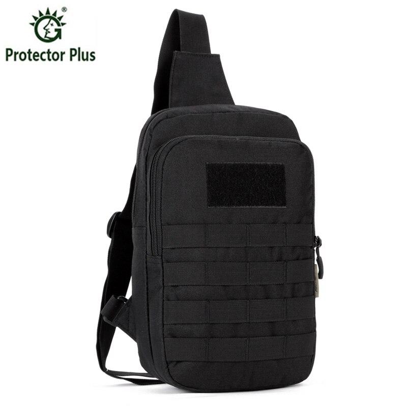 Men's Chest Pack Bag Sling Single Shoulder Strap Pack Bag Travel Bag Male Outdoos Handbags Rucksack Tactics Chest Bag sling bag