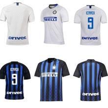 8ed143639 Adult shirt 2018 2019 Inter milan football shirt J.MARIO ICARDI PERISIC  KONDOGBIA B.VALERO CANDREVA 18 19 shirt soccer jersey