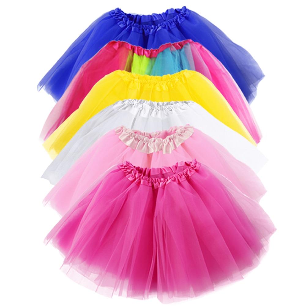 a5f311244f98 Faldas de tul para mujer alta calidad elástico tul adolescentes capas  verano mujeres adultos tutú Falda plisada Mini faldas USD 7,19/Pieza