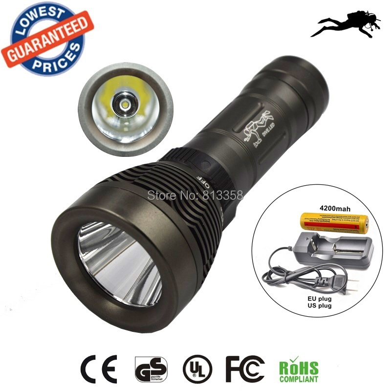 AloneFire Q2 diving flashlight CREE XML T6 Underwater LED Flashlight Torch Waterproof Light Lamp+18650 battery+charger sitemap 165 xml