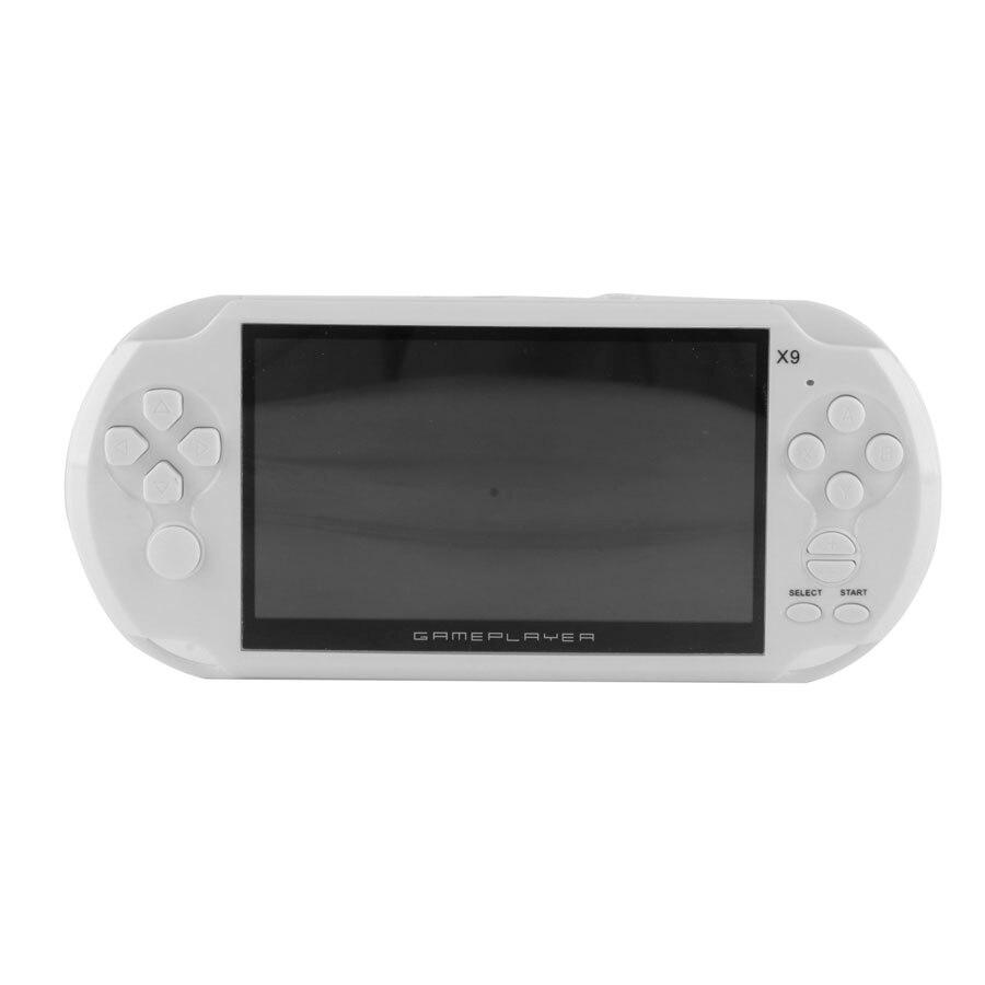 Coolboy 5.0 Grand Écran De Poche Game Player Support TV Out Avec MP3/Film Caméra Classique Jeux Vidéo Consoles 8 GB Portable